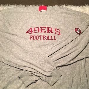 San Francisco 49ers  Football LS shirt 2Xl NFL